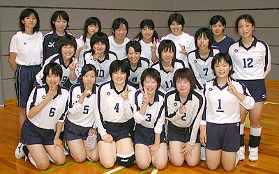 高岡高校女子バレーボール部